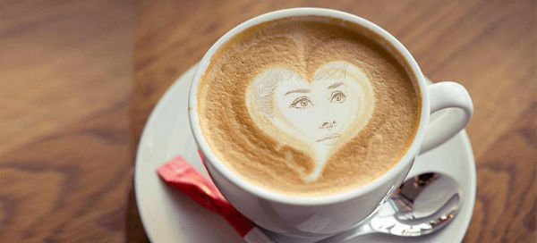 Create personalized latte art!