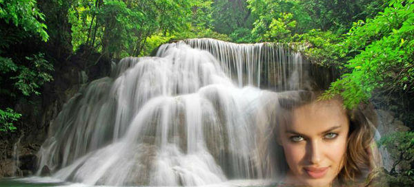 Create your waterfall photo