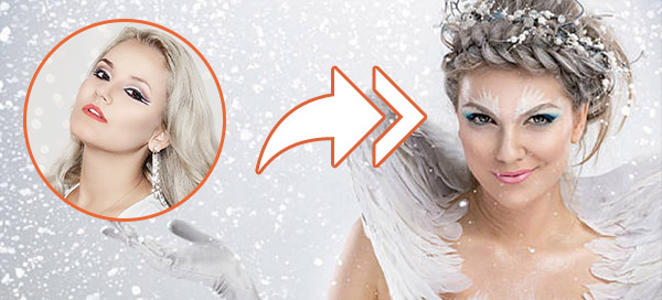 Check out your snow angel look!