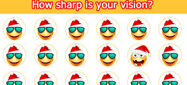 [Game] How sharp is your vision?