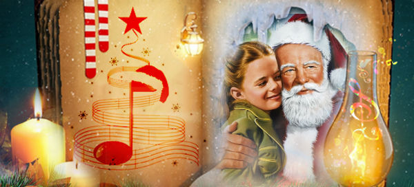Let`s make your Christmas song picture