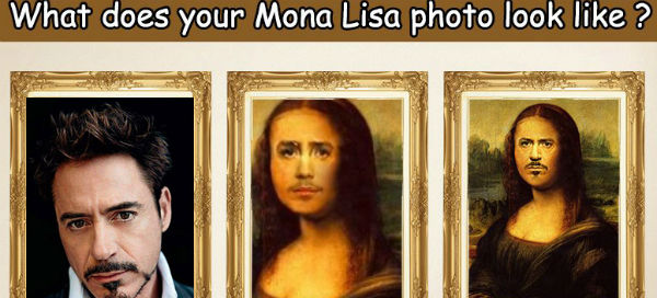 What does your Mona Lisa photo look like ?