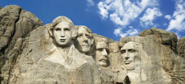 Could you find your profile inside the Mount Rushmore Face in Hole?