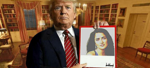 It`s time to show your photo to the whole world by Trump