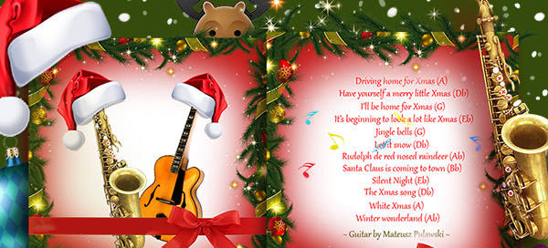 Create your Christmas song picture