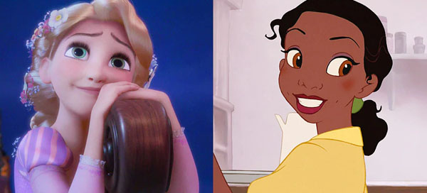 Which 2 Disney princesses are you a combination of?