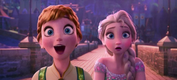 How excited are you in Frozen 2 ?
