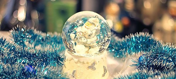 You are beautiful in this Christmas globe