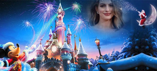 See yourself in the Disneyland this Christmas
