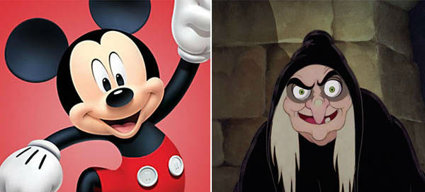 Which Disney character are you  in different mood?