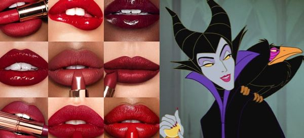 Tell us your lips color preference we can guess which Disney villain you are