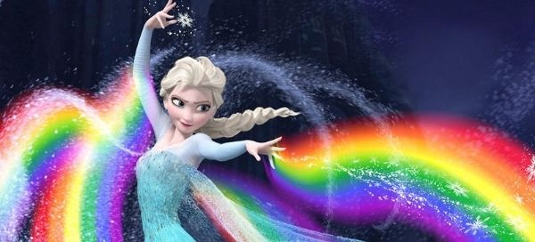 Frozen! Create Your Picture With Elsa's Ice Power
