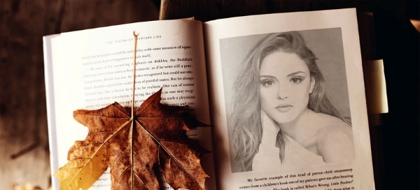 Your Portrait Will Be Depicted On The Book With A Maple Leaf Next To It. Give It A Go Today And Get Into The Nostalgic Spirit.